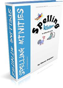 Equips teachers with printable, visually attractive spelling activities that are ready for immediate use. The printable &amp; easy to use worksheets help students identify, correct, record, practice, test and learn how to spell commonly misspelled words. Use one activity at a time, only a few, or all of the sheets together as part of a year long individualized spelling program. Spelling activities systematically help students learn how to spell their misspelled often-used words, subject word lists, or words that have been misspelled through personal writing.